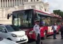A Roma ci sono già gli autobus che si guidano da soli, ehm