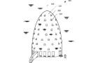 Questi alveari per droni brevettati da Amazon non sono per niente inquietanti