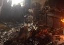Le foto dell'interno del palazzo bruciato a Londra