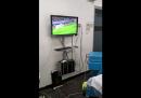 In Cile hanno esultato per una partita di calcio durante un'operazione in ospedale?