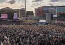 Foto e video del concerto di Ariana Grande a Manchester