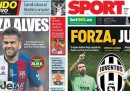 I quotidiani sportivi catalani tifano Juventus, ovviamente