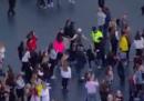 Un poliziotto che ha capito bene lo spirito del concerto di Ariana Grande a Manchester