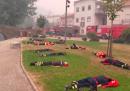 Le foto dei pompieri in Portogallo che si riposano dopo aver lavorato un giorno e una notte interi