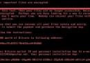 """Il nuovo attacco informatico con """"riscatto"""""""
