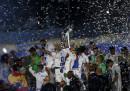 Le foto dei festeggiamenti del Real Madrid per la Champions League