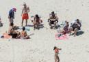 Chris Christie non stava prendendo il sole, aveva il cappellino