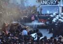 Ci sono stati scontri durante una manifestazione contro il G20 ad Amburgo