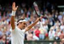 Federer ha battuto Nadal e si è qualificato per la finale di Wimbledon