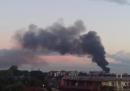 C'è stato un incendio in un impianto di stoccaggio rifiuti nella periferia nord di Milano