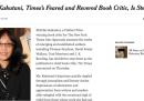 Michiko Kakutani, la famosissima critica di libri, ha lasciato il New York Times
