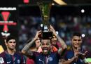 Il Paris Saint-Germain ha vinto la Supercoppa di Francia, battendo in finale il Monaco per 2 a 1