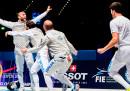 L'Italia è arrivata prima nel medagliere dei Mondiali di scherma finiti oggi