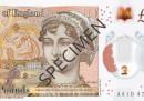 La nuova banconota da 10 sterline, con Jane Austen