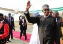 Il presidente nigeriano Muhammadu Buhari è tornato nel paese dopo aver passato più di tre mesi nel Regno Unito a farsi curare