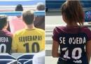 Alcuni tifosi del PSG stanno infierendo su Piqué e il Barcellona