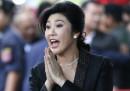 L'ex prima ministra thailandese Yingluck Shinawatra è stata condannata a cinque anni di carcere (ma non si sa dove sia)