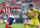 Atletico Madrid-Napoli in streaming e in tv
