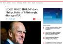 Il Telegraph ha annunciato per errore la morte del principe Filippo