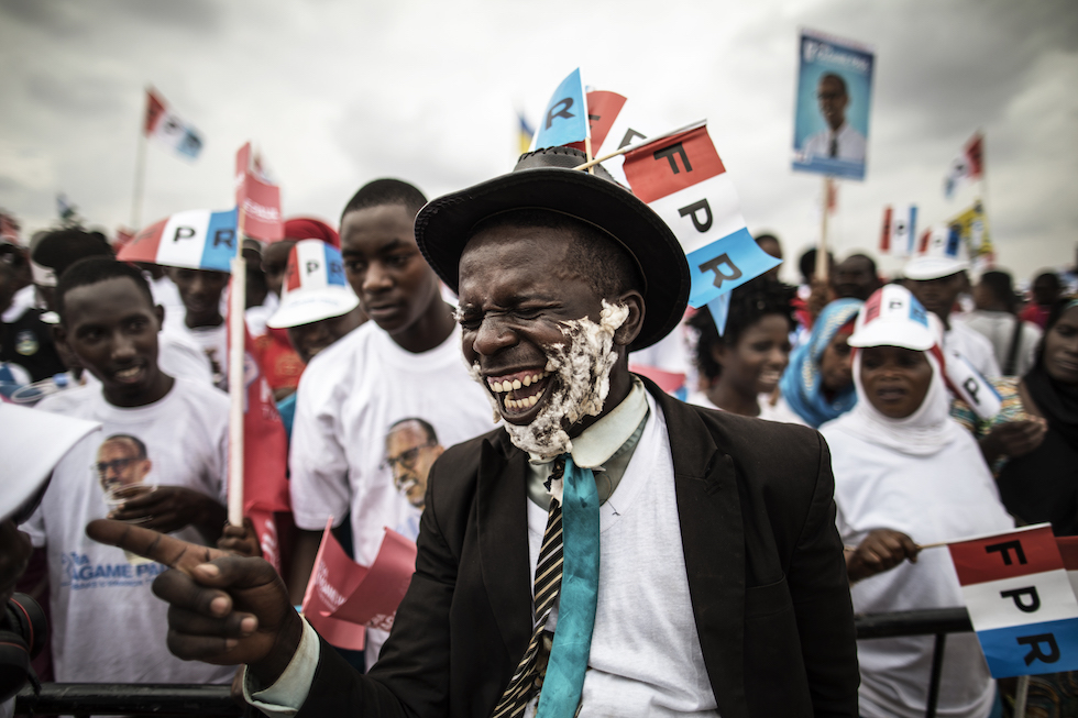 elezioni ruanda longari