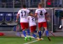 La stagione di Nicolai Müller è durata 8 minuti, il tempo di rompersi il crociato esultando