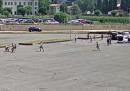 Il video della grande rissa tra due clan di rom a Bergamo