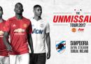 Manchester United-Sampdoria in streaming e in diretta tv
