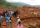 Nella frana in Sierra Leone sono morte almeno 270 persone