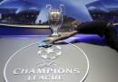 Champions League: i sorteggi in diretta tv e in streaming