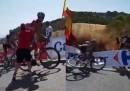 Alla Vuelta di Spagna sono successe due brutte cose