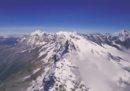 La montagna vista da un drone sembra molto meno faticosa