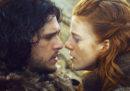 """Se non guardate Game of Thrones non ve ne frega niente, ma """"Jon e Ygritte si sposano!"""""""
