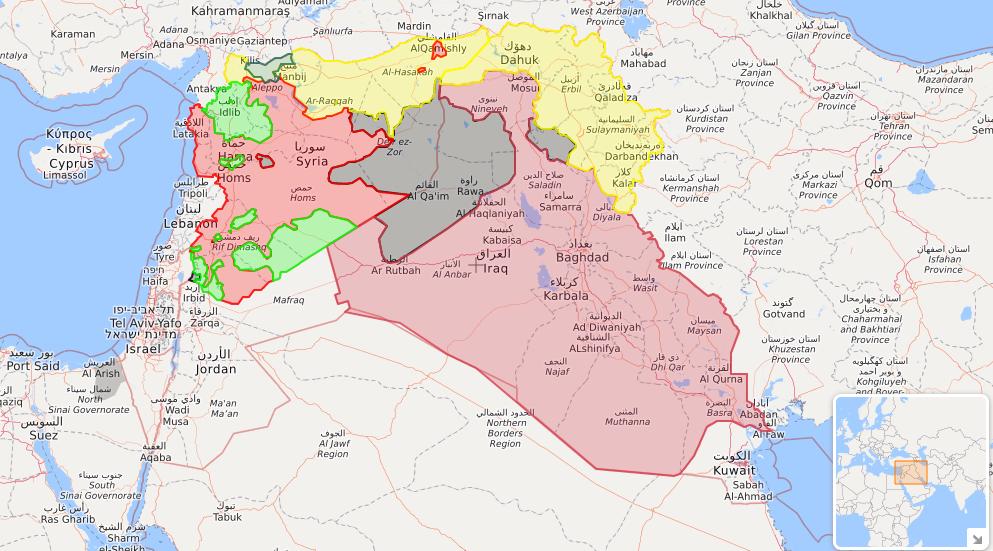 Cartina Kurdistan.Il Referendum Per L Indipendenza Del Kurdistan Iracheno Spiegato Il Post