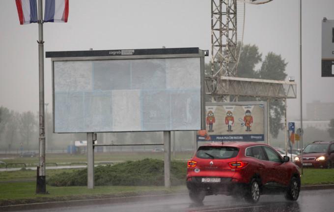 Croatia Melania Trump Billboard