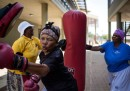 Nonne che fanno boxe, in Sudafrica
