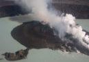 L'evacuazione dell'isola Ambae è stata accelerata per l'intensificarsi dell'attività del vulcano Manaro
