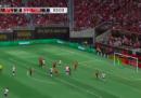 Il gran gol su punizione di Sebastian Giovinco
