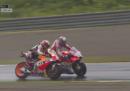 Il video delle ultime curve del Gran Premio del Giappone, tra Dovizioso e Marquez