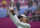 Maria Sharapova ha vinto il suo primo torneo di tennis dopo la squalifica per doping