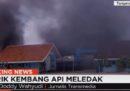 È esplosa una fabbrica di fuochi d'artificio a Giacarta, sono morte almeno 46 persone
