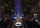 A New York sono proprio iniziate le feste di Natale