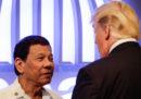 Duterte ha cantato una canzone d'amore per Trump