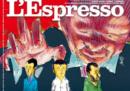 La nuova copertina dell'Espresso, disegnata da Makkox