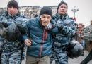 In Russia 263 persone sono state arrestate durante una manifestazione contro Putin