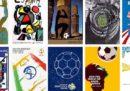 I poster ufficiali di tutti i Mondiali di calcio