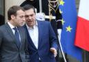 Tutto sommato Tsipras e Macron la pensano uguale, dice Tsipras