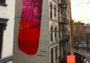 A New York è comparso il murale di un pene gigante, ma è durato poco
