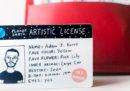 Per Natale potete regalare una patente personalizzata e disegnata da un'artista