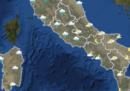 Le previsioni del tempo in Italia per martedì 12 dicembre