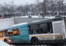 A Mosca almeno quattro persone sono morte a causa di un incidente che ha coinvolto un autobus
